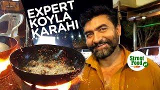 Expert Koyla Karhai | Street Food Karachi | Travel Pakistan