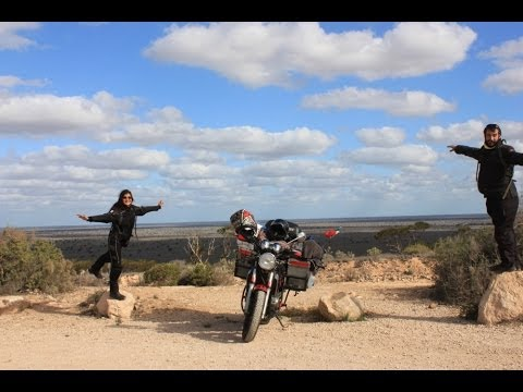 Around the World by motorbike in 5 min
