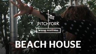 Beach House - Zebra - Pitchfork Music Festival 2009