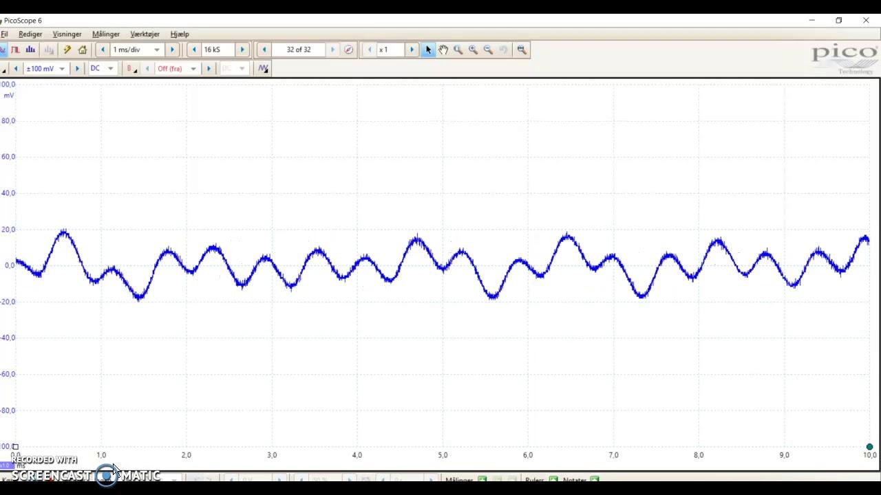 Fysik forsøg med lydbølger 1