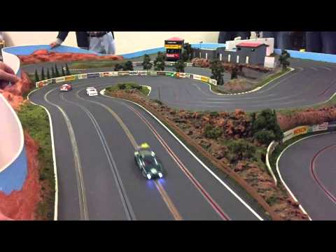 Slot Car Racing - Gully Racetrack