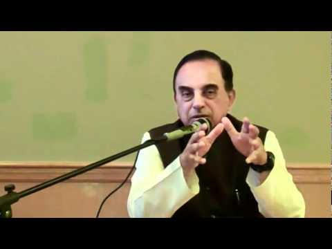 Part 3/7 - Current Political Situation In India - Subramanian Swamy in New Jersey