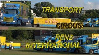 Afbouw / Transport Circus Renz International 2019 (Bergen Op Zoom )