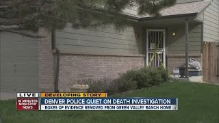 Denver police quiet on death investigation in Green Valley Ranch