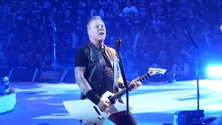 Metallica - Seek and Destroy (Live) @ SAP Arena Mannheim 16.02.18