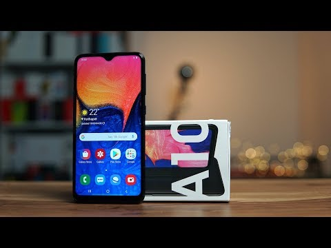 Samsung Galaxy A10 Unboxing, Hands On - One UI, Face Unlock, Benchmarks, Camera