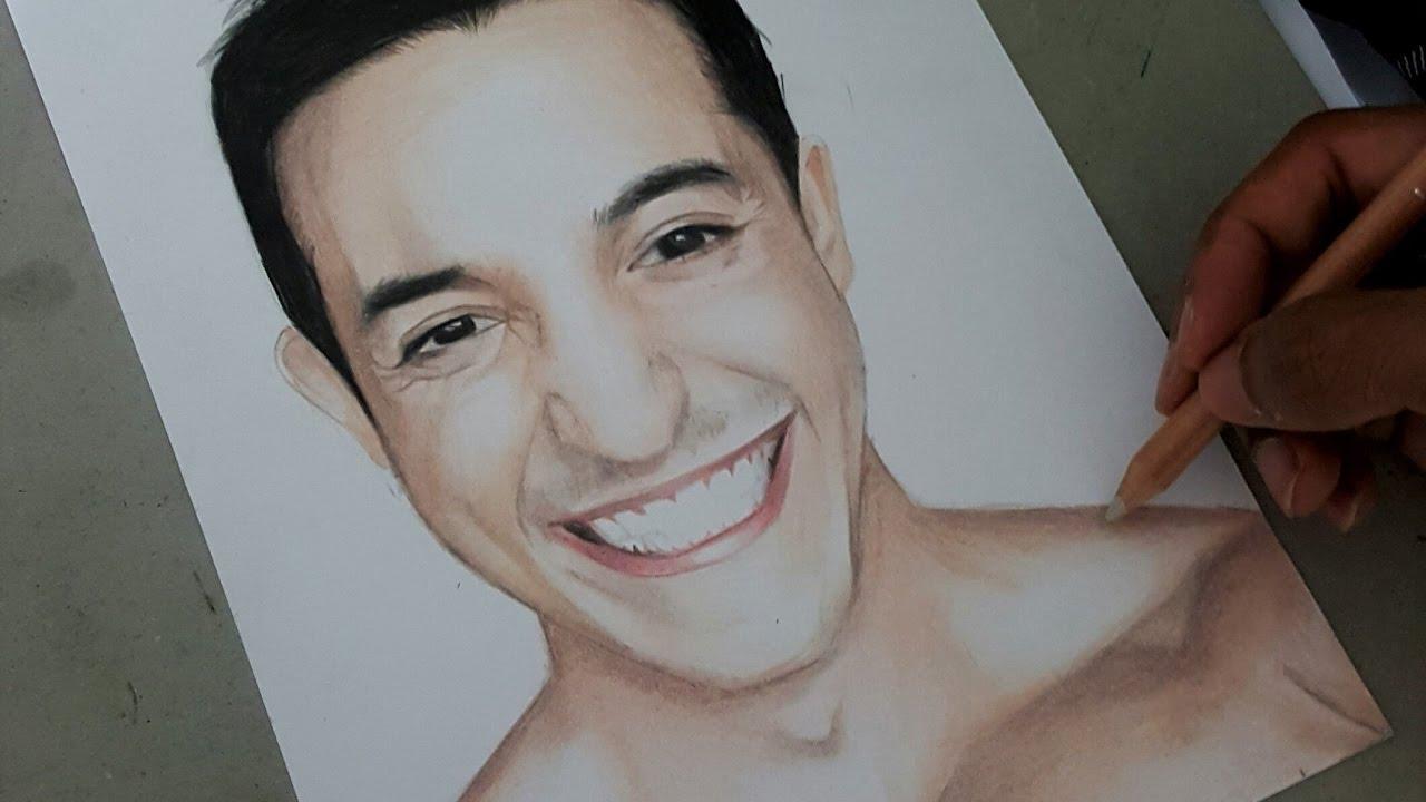 Assez Dessin du Youtubeur Tibo InShape (Portrait Realiste) #23 - YouTube HA06
