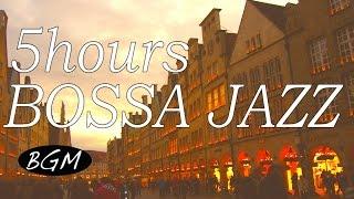 5hours relaxing cafe musicbossa nova jazzinstrumental background for work studyのんびり時間を!!