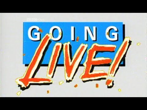 Going Live! | Full 36 minute fragment | BBC1 02/12/1989