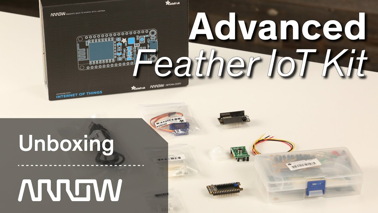 Adafruit | Advanced Feather IoT Pack | Unboxing