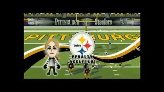 Madden NFL 09 All Play Jets vs Steelers Part 1