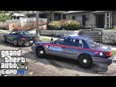 GTA 5 LSPDFR 0.3.1 - EPiSODE 325  - LET'S BE COPS - CITY PATROL (GTA 5 PC POLICE MODS) ATL