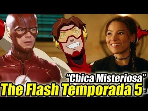 """Chica Misteriosa"" En The Flash Temporada 5 + Teorías Final de Temporada 4"