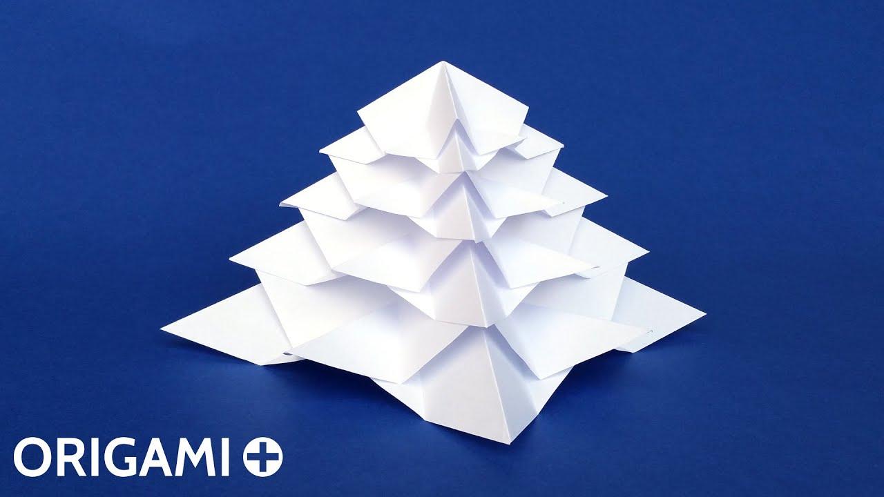 Origami: Christmas Tree - YouTube | 720x1280