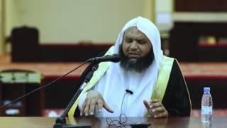 كلمة لفضيلة الشيخ /بدر بن حمد الدولة في اليوم الدعوي في مكتب دعوة الجاليات بالجبيل