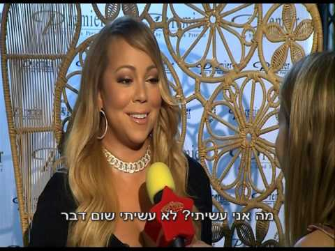 Mariah crisis in Israel : Diva gets involved in Prime minister scandal