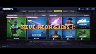 !! NEUE NEON SKINS!! FORTNITE SHOP 05.04 !!!!!!!! [by JBD]