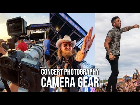 Watershed Country Music Festival 2019 - Concert Photographer Vlog