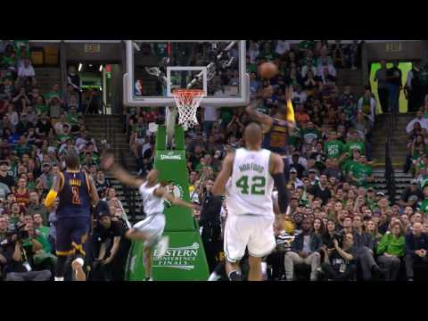 LeBron with the Highlight Reel Chasedown Block | May 19, 2017