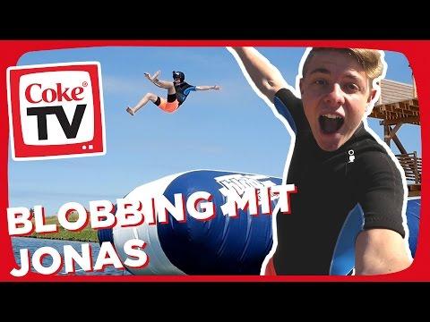 Jonas beim Blobbing | #CokeTVMoment