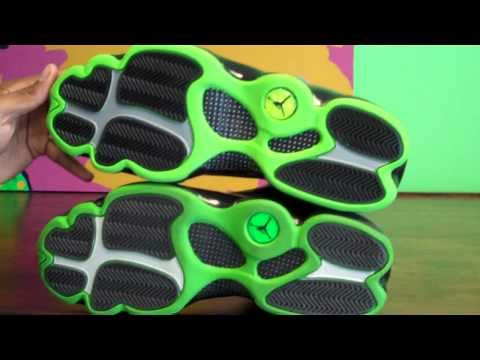 watch 152fc 7c462 Altitude Air Jordan 13 XIII Comparison 2005 vs 2010 by Sneaker Dave
