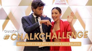#ChalkChallenge: Never Have I Ever With Solenn And Nico Bolzico