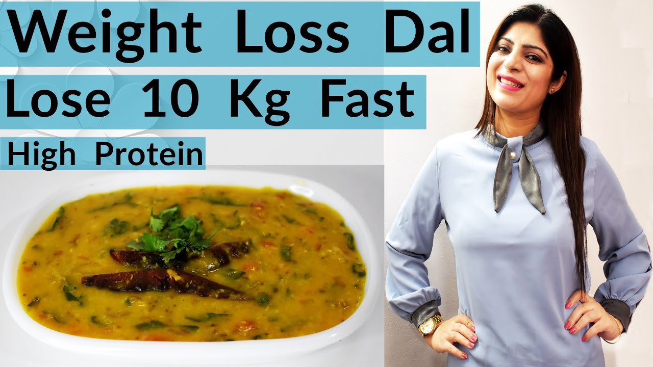 Weight Loss Dal Recipe In Hindi | Dal Recipe For Fast Weight Loss | Spinach Dal | Dr. Shikha Singh