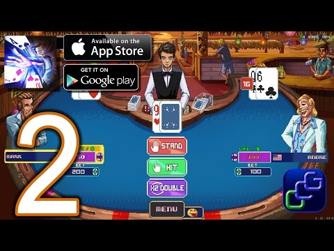 Super Blackjack Battle II Turbo Edition - The Card Warriors iOS Walkthrough - Part 2 - Single Player