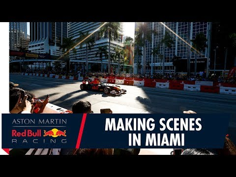 F1 Festival Miami | Patrick Friesacher Makes Scenes On The Streets