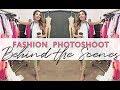 Fashion Photoshoot Behind the Scenes | Designer Shirin Askari