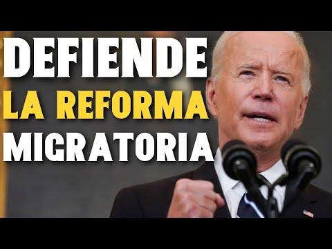 Joe Biden defiende la Reforma Migratoria y se reúne con los Demócratas opositores
