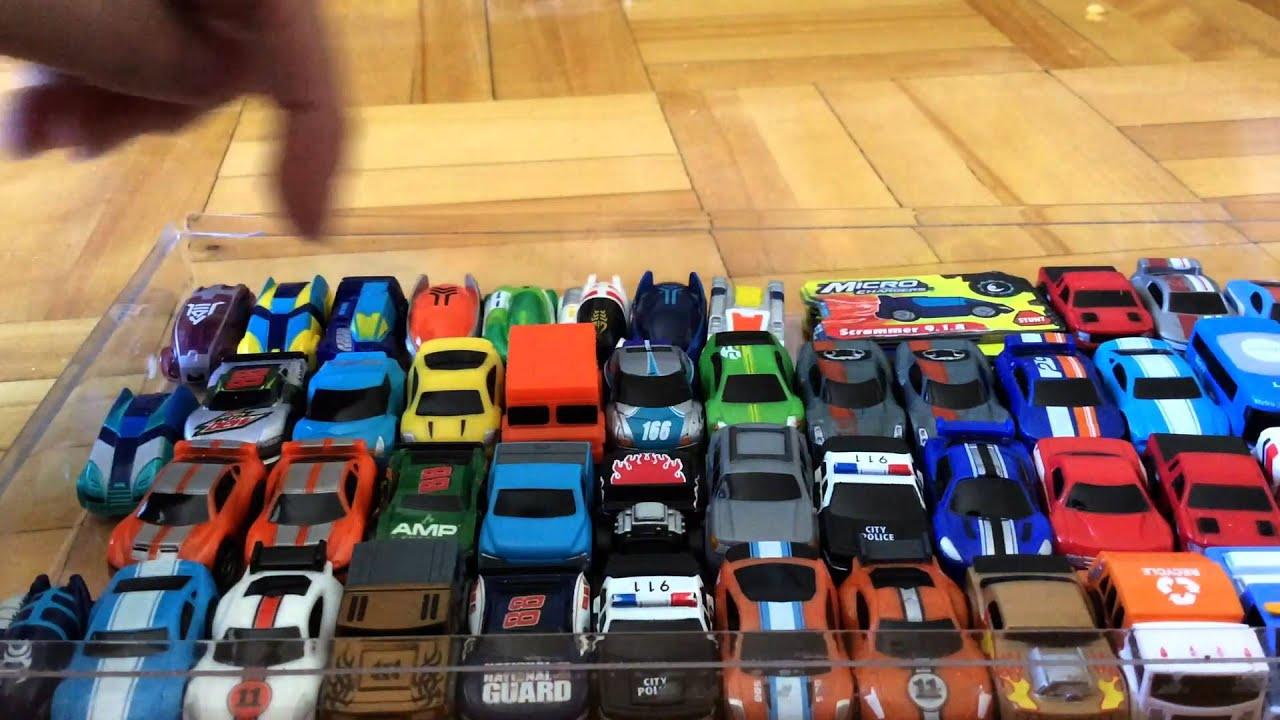 A Toy Car Traffic Jam Youtube