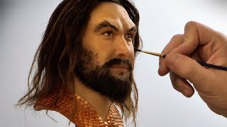Aquaman Sculpture Timelapse - Aquaman