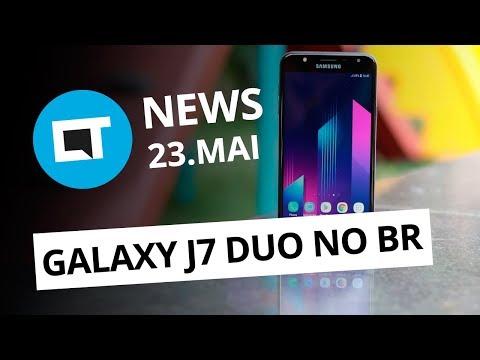 Galaxy J7 Duo no Brasil; HTC U12 Plus é lançado; Sedex suspenso e + [CT News]