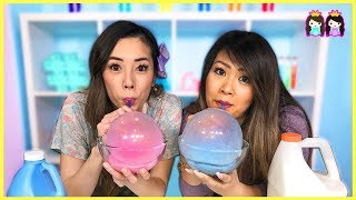 Balloon Bubbles DIY Science Experiments to Do at Home