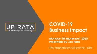 COVID-19 business update (28 September 2020)