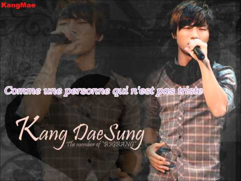 AUDIO: DaeSung (BigBang) - Try smiling - Vostfr, french sub