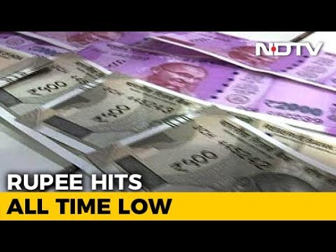 Rupee Falls To All-Time Closing Low Of 74.39 Against Dollar Mp3