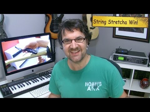 String Stretcha Contest Winner!
