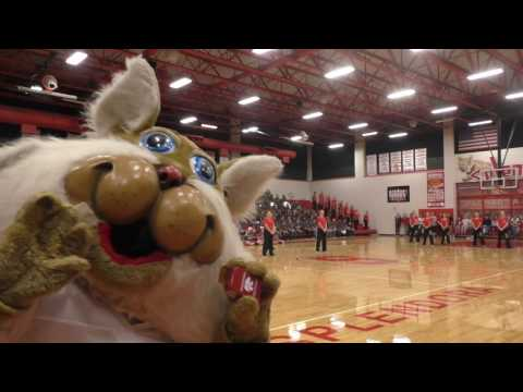 Splendora Early College High School Pep Rally 2016-2017