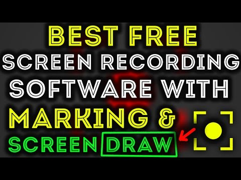 How To Record Screen In Pc For Free With Screen Draw software Hindi 2016