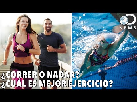 ¿Correr o nadar? ¿Cuál es mejor ejercicio?