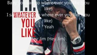T.I- Whatever You Like (Dirty)
