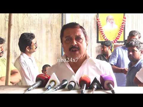 Actor Sivakumar  Pays Last Respect To Writer Balakumaran  nba 24x7