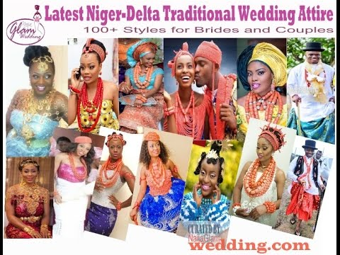 100 Latest Niger-Delta Traditional Wedding Attire Styles (African Bridal Fashion)