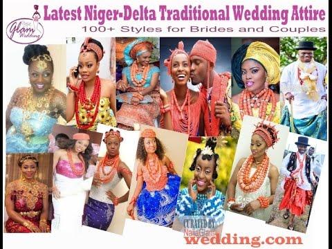 100 Latest Niger-Delta Traditional Wedding Attire Styles (African Bridal Fashion)