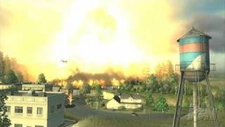 World in Conflict PC Games Gameplay - Boom
