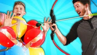 Balloon Armor POP Challenge!