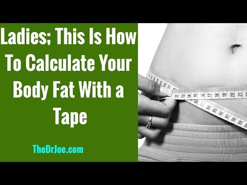Women Body Fat Percentage Calculation Using Tape And Navy Army Formula At Home