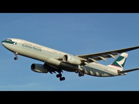 Cathay Pacific Airways HKSE Narita Airport RWY16L